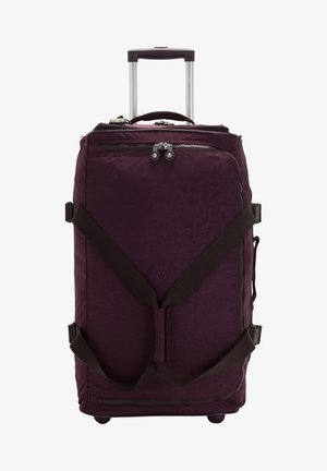 Wheeled suitcase - dark plum