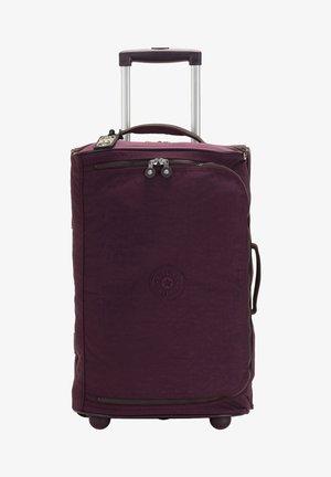 Wheeled suitcase - dark plum