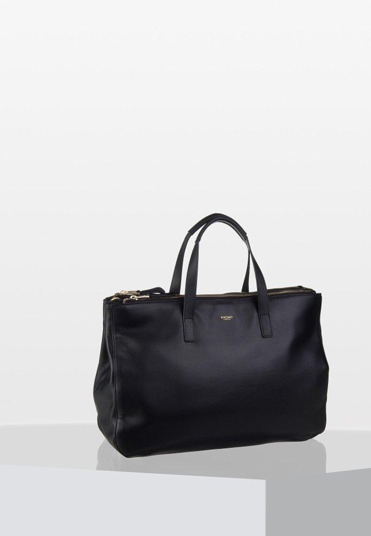 Knomo - MAYFAIR LUXE DERBY  - Tote bag - black