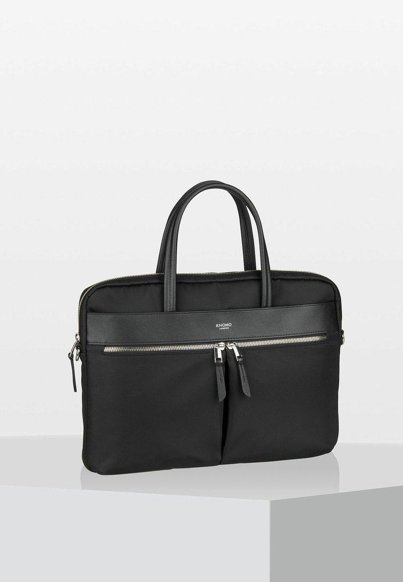 Knomo - MAYFAIR HANOVER  - Briefcase - metallic black