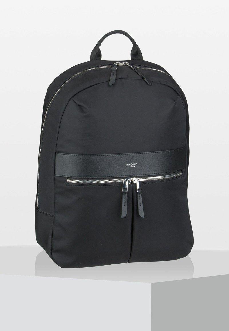 Knomo - MAYFAIR - Rucksack - black/silver
