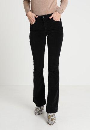 RAVAL SMOOTH - Pantalon classique - black