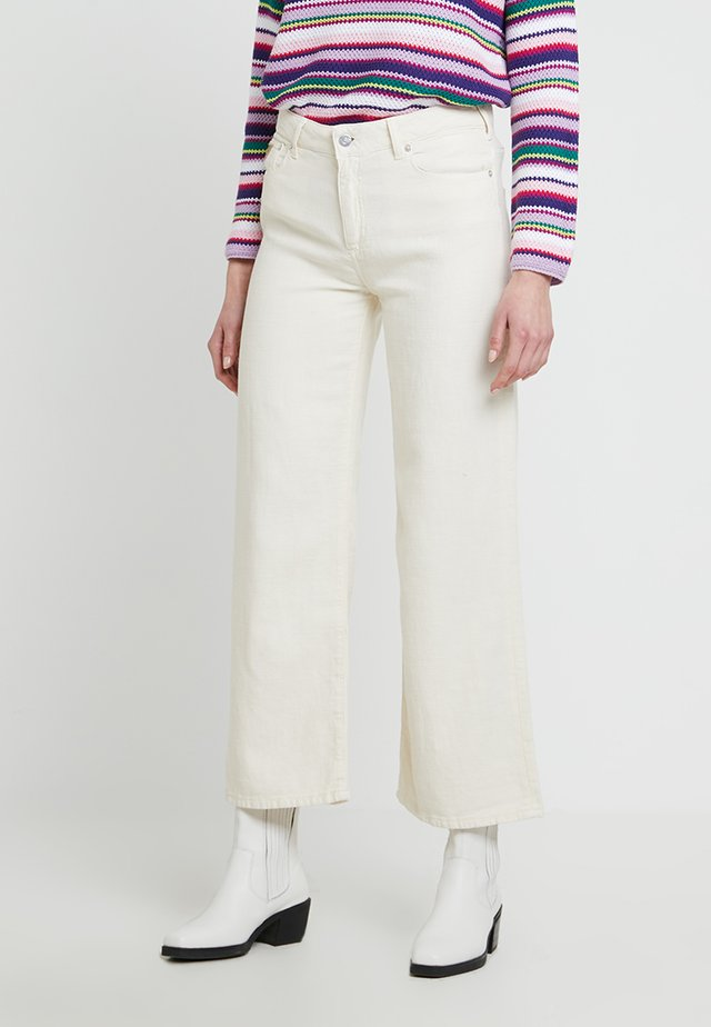 NEW CULOTTE - Stoffhose - off-white