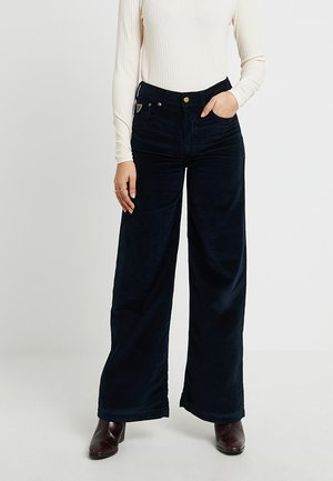 PALAZZO - Pantalones - marino