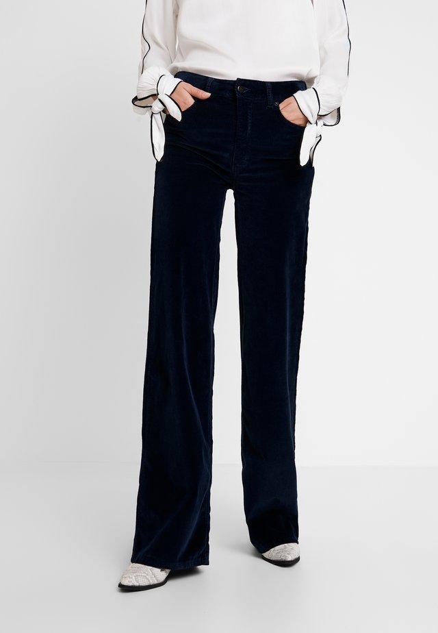 PALAZZO - Spodnie materiałowe - marino