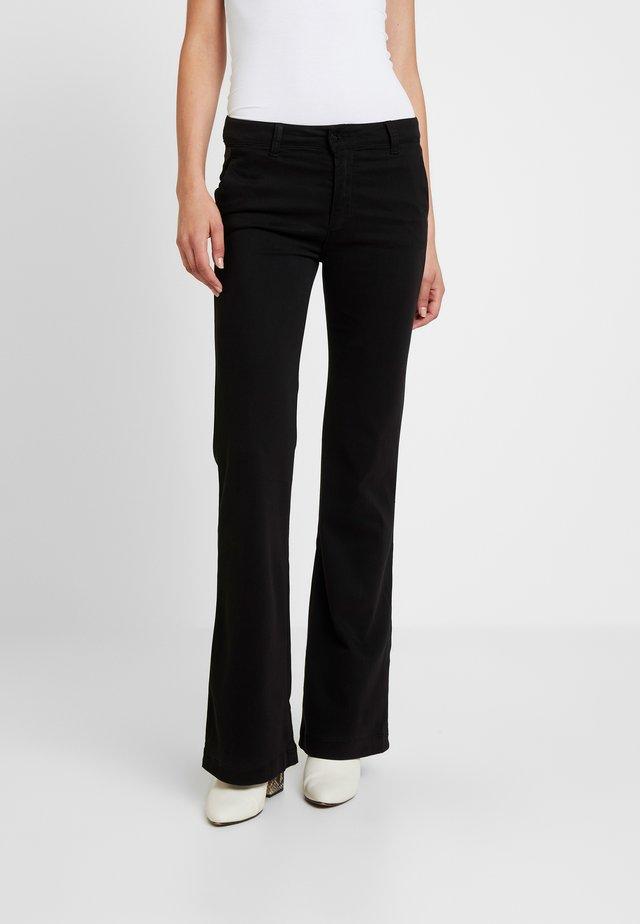 BERUSKA - Pantalon classique - black