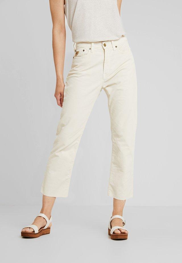 WENDY - Pantalon classique - ecru