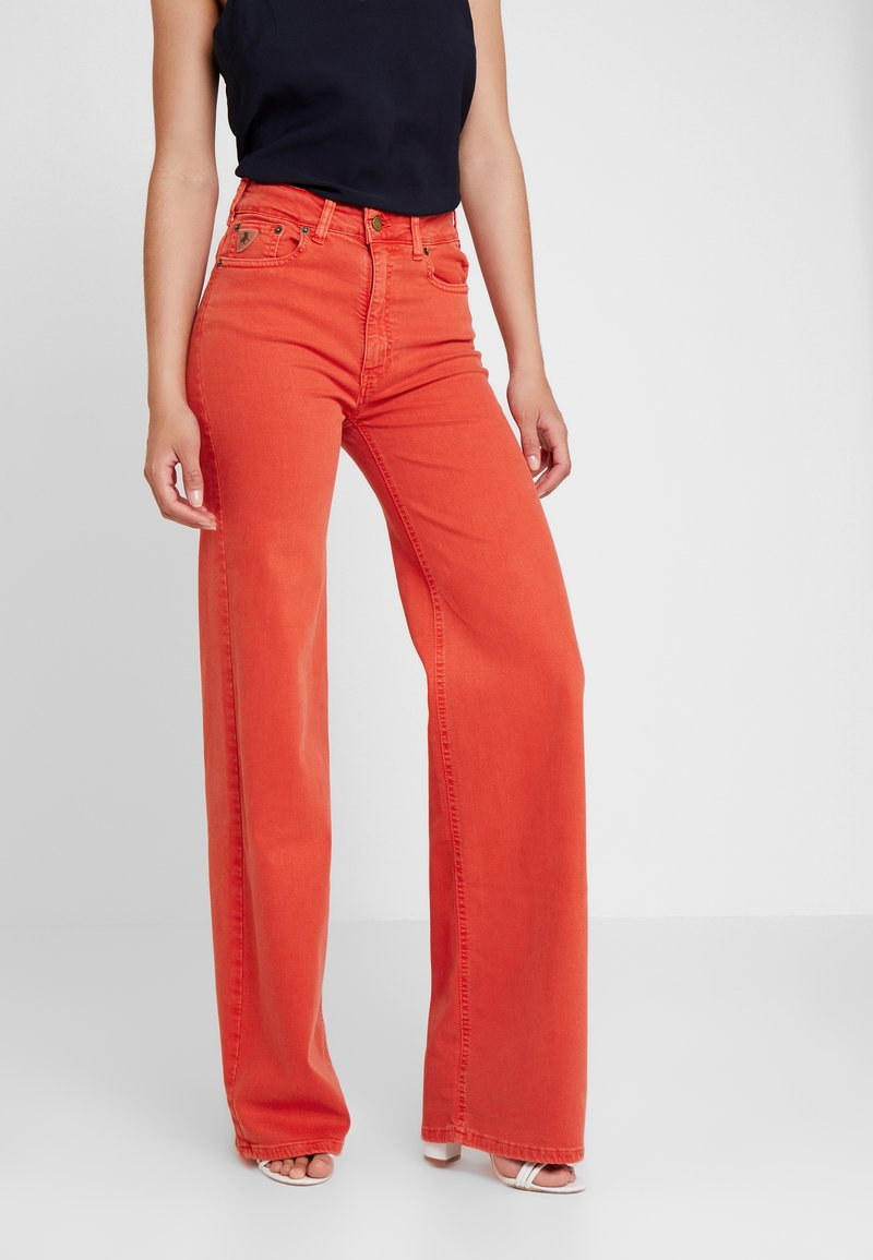 LOIS Jeans - PALAZZO - Straight leg jeans - flame