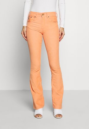 MELROSE - Trousers - papaya