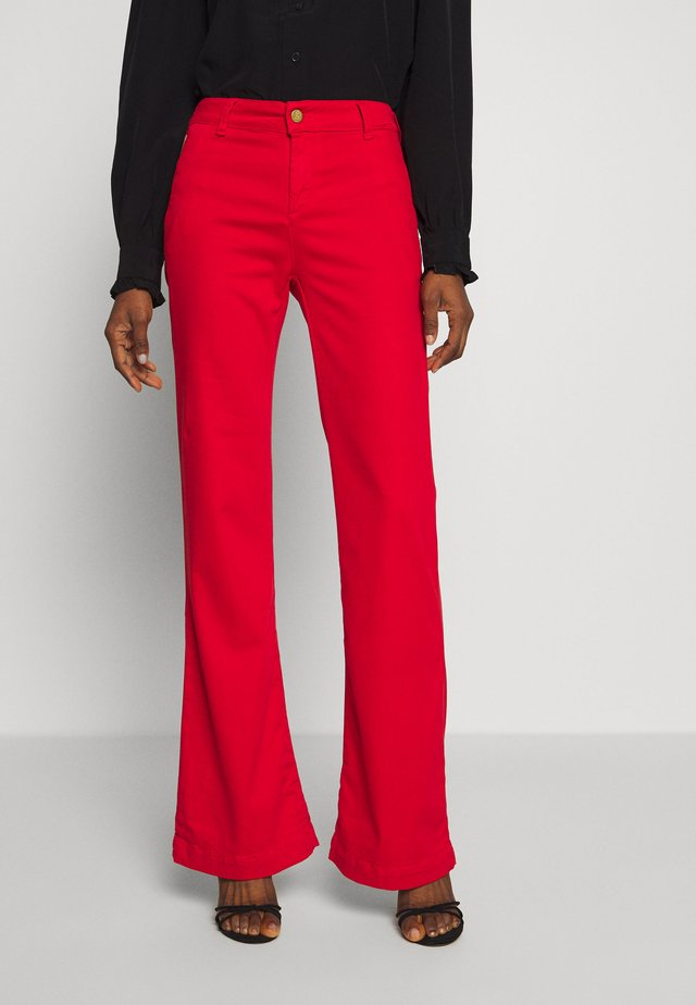 BERUSKA - Pantalon classique - red