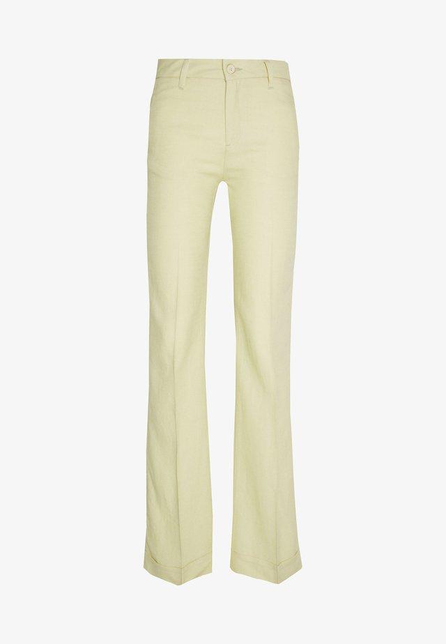 SILVIA - Pantalon classique - vanilia
