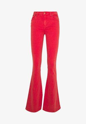 RAVAL - Široké džíny - cayenne