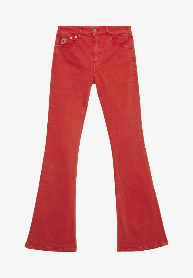 RAVAL - Flared Jeans - flame