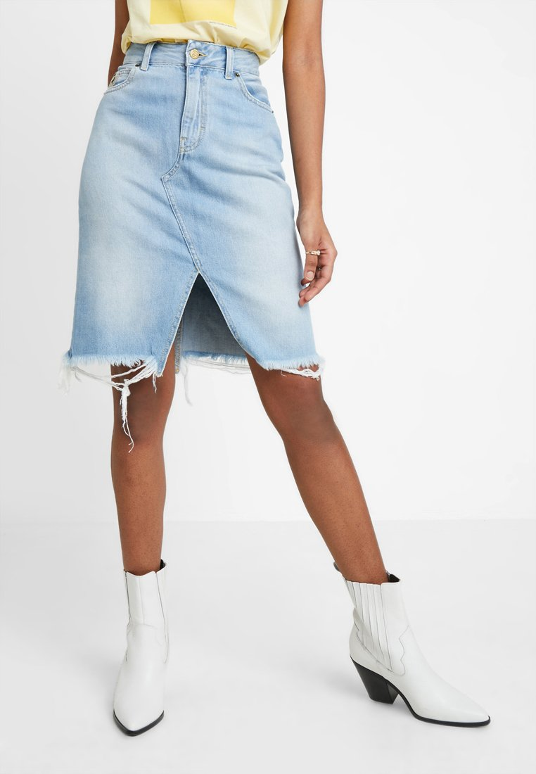 LOIS Jeans - NEW SABRINA - Denim skirt - bleach