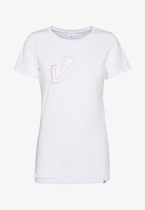 PERFECT TEE - T-shirt print - white