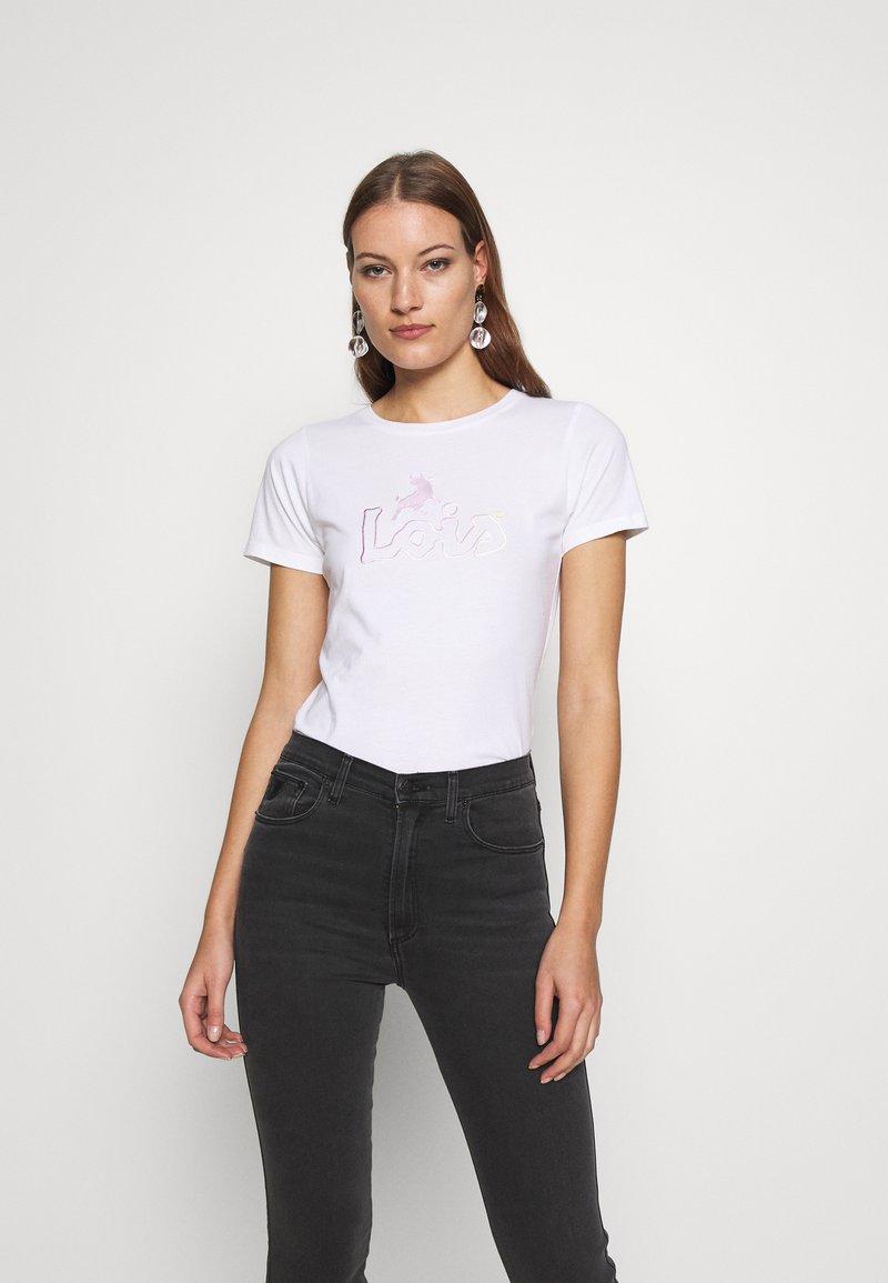 LOIS Jeans - PERFECT TEE - T-shirt print - white