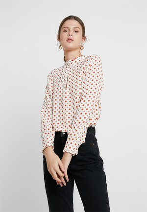 ALEGRA - Blouse - off-white/red