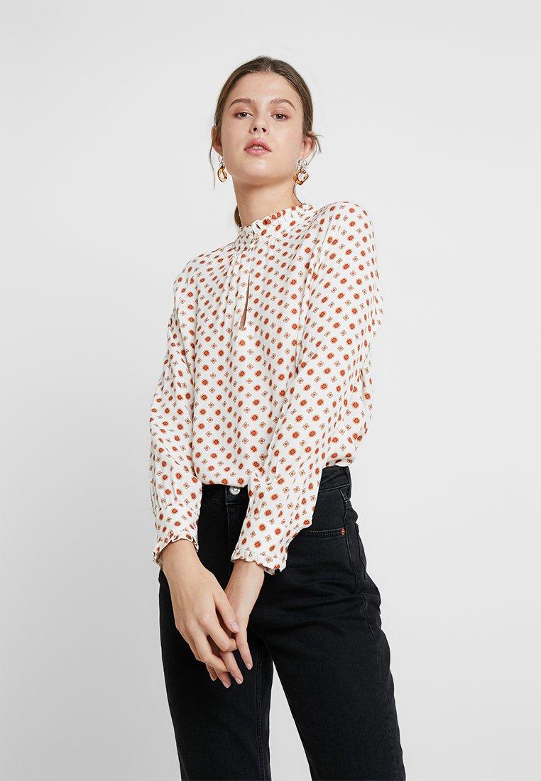 LOIS Jeans - ALEGRA - Pusero - off-white/red