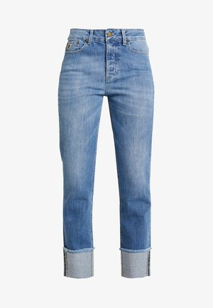RETURN - Jean droit - light-blue denim