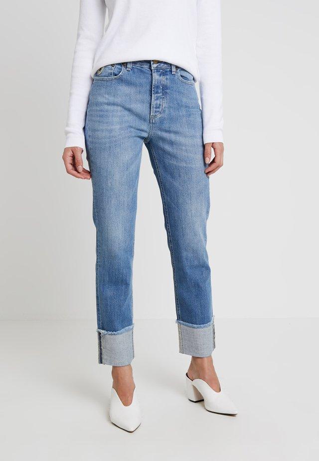RETURN - Jeansy Straight Leg - light-blue denim
