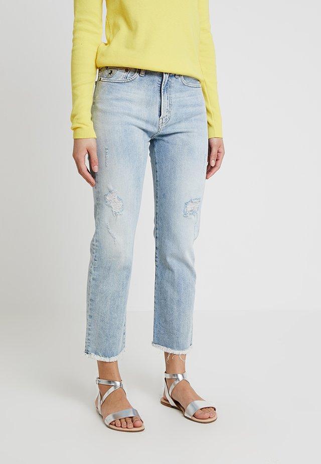 WENDY - Straight leg jeans - stone bleach