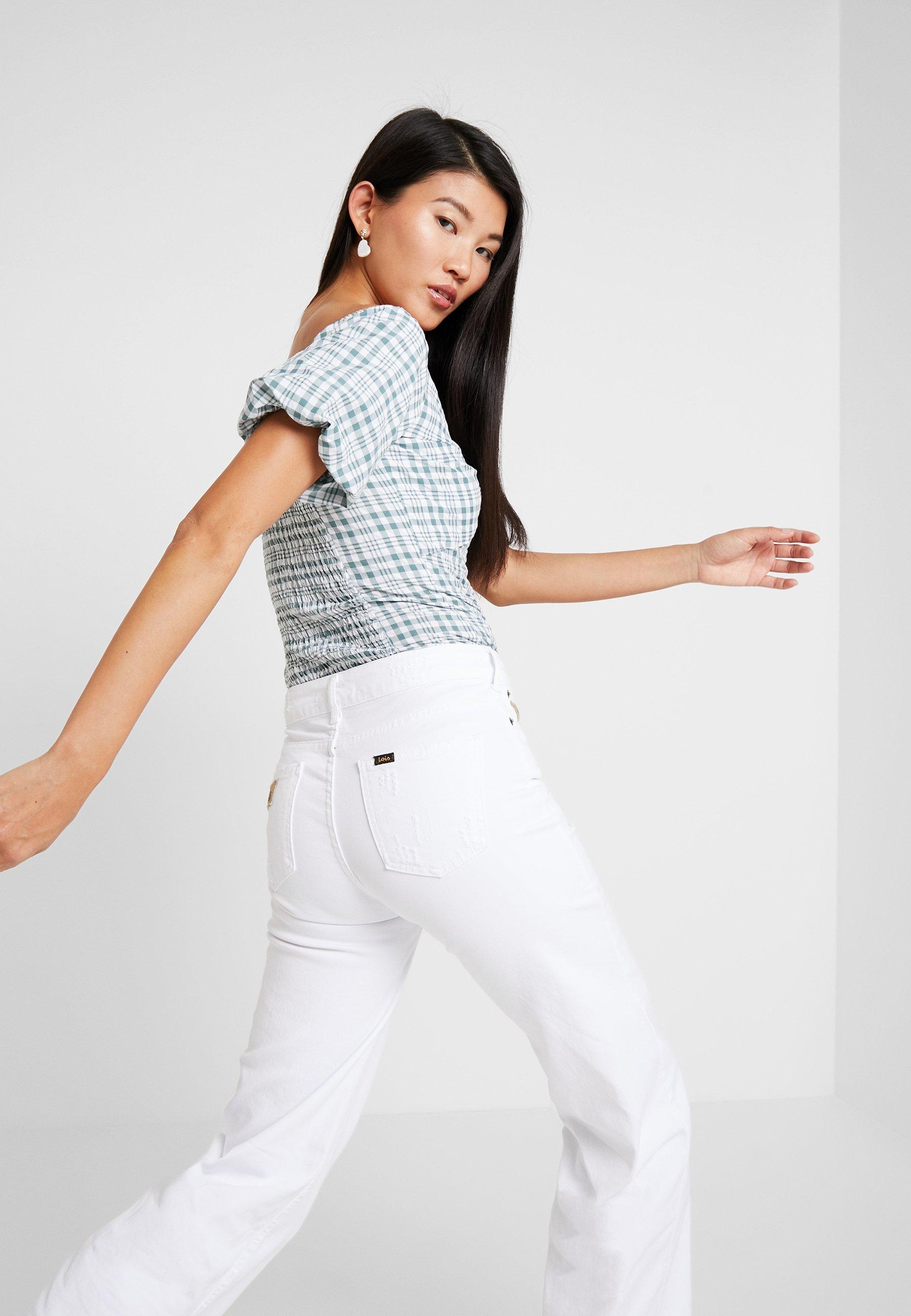White Lois White Lois Flare Flare PalazzoJean PalazzoJean Jeans Jeans OkPXuZiT