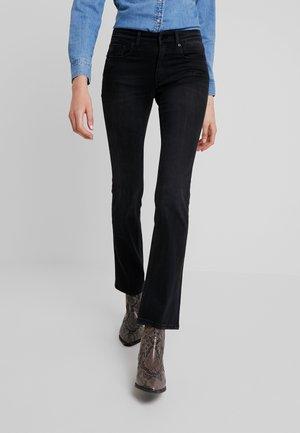 MELINA - Bootcut jeans - stone dark