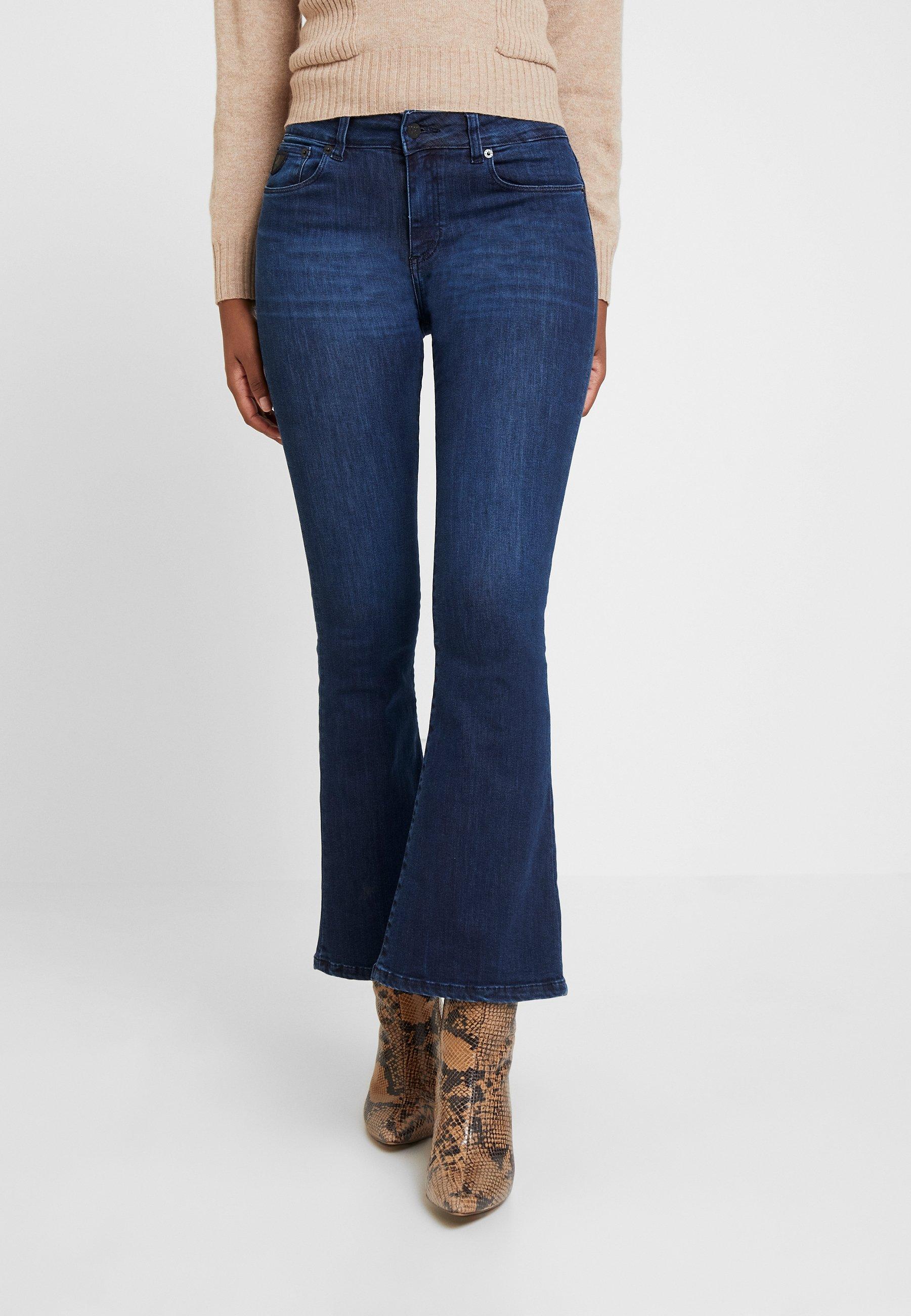 Jeans Denim Flare Dark blue Lois RavalJean 0XPnw8Ok