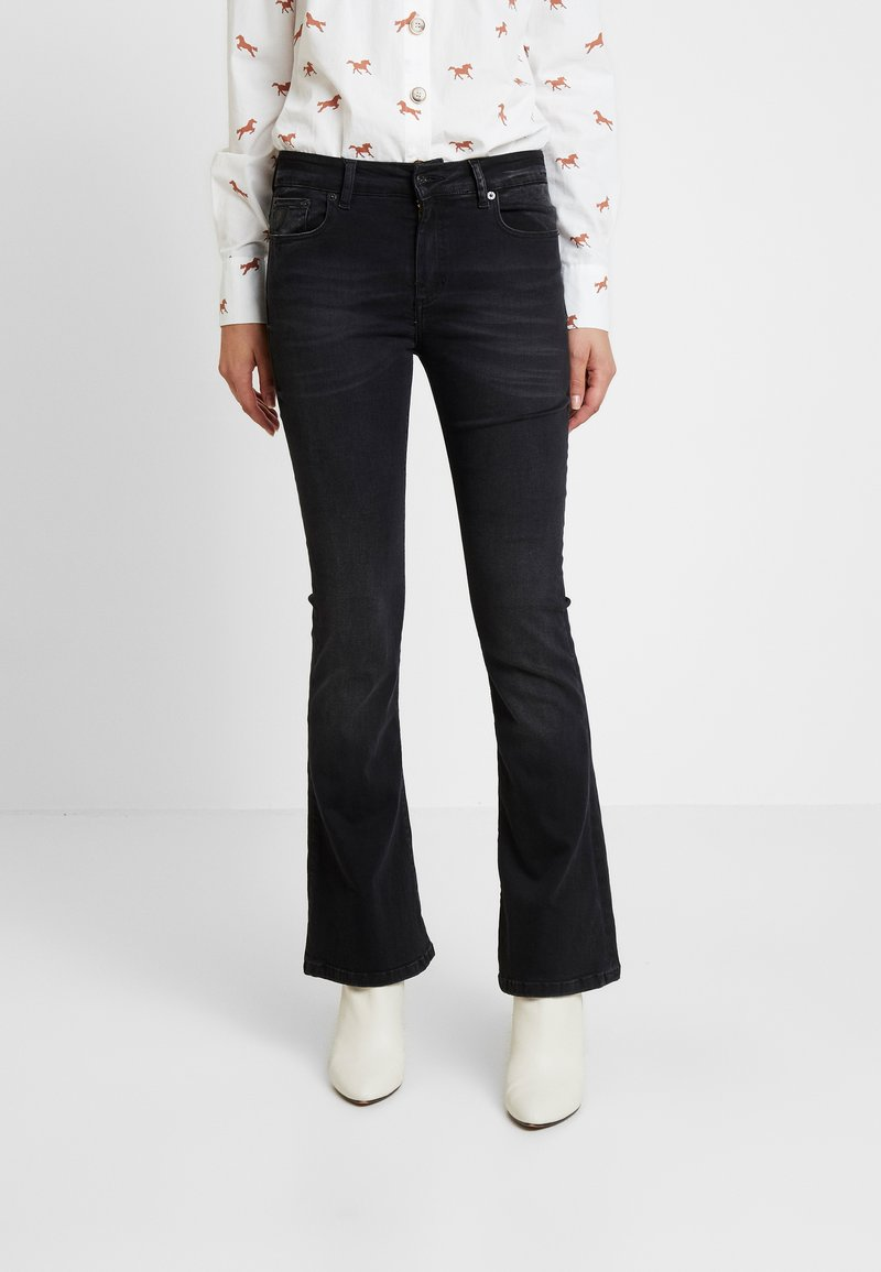 LOIS Jeans - RAVAL - Flared Jeans - stone dark