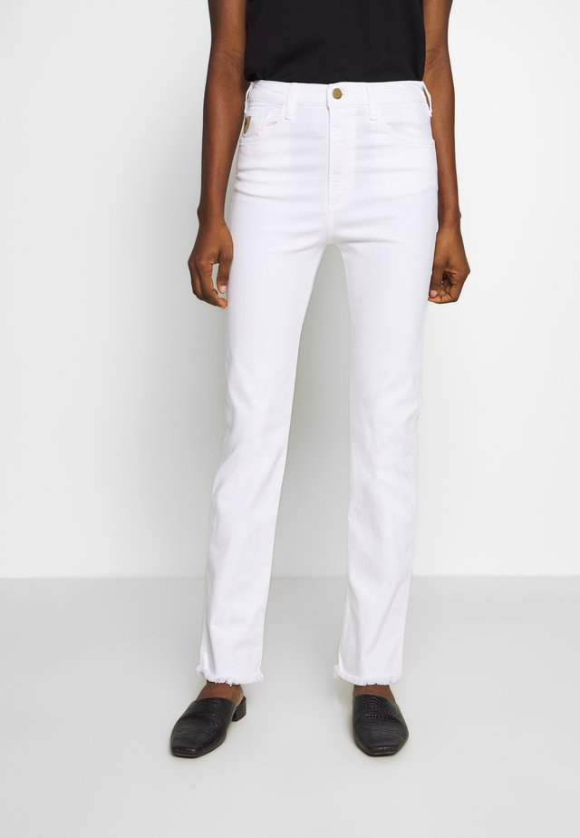 REBECA EDGE - Jeans Straight Leg - white