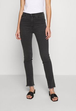 REBECA - Jeans straight leg - stone grey