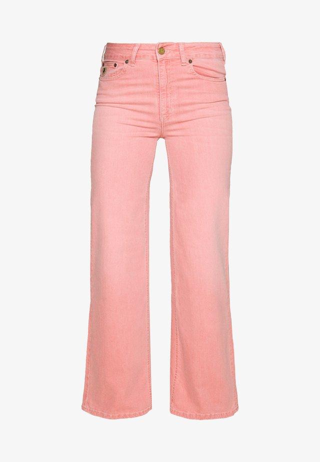 PALAZZO - Flared Jeans - geranium