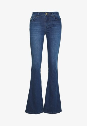 RAVAL - Flared jeans - Teal Stone