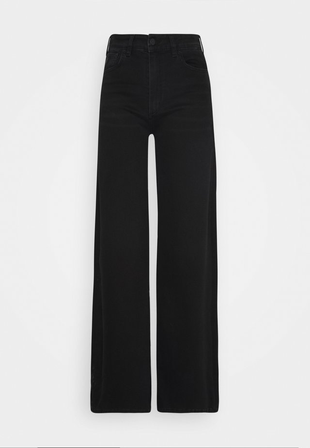 PALAZZO - Flared Jeans - black stone