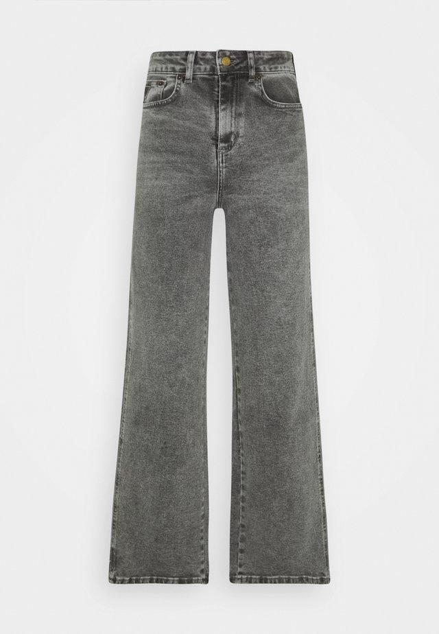 RACHEL - Flared Jeans - stone grey