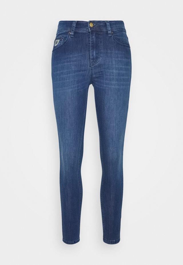 CELIA - Jeans Skinny - teal stone