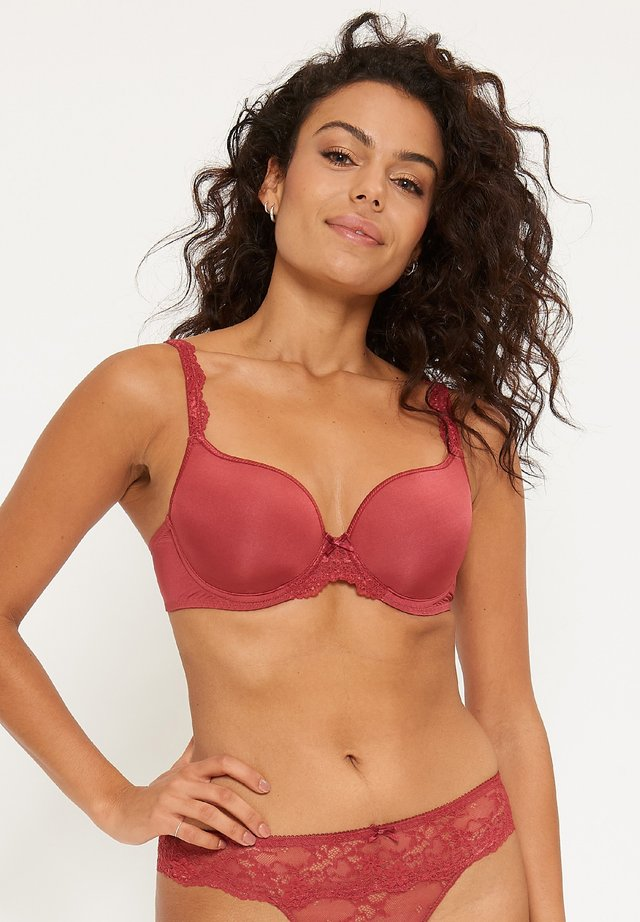 DAILY BRA - Beugel BH - dark red