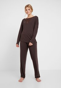 LingaDore - INDY SET - Pyjama - java brown - 0