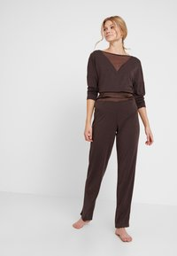 LingaDore - INDY SET - Pyjama - java brown - 1