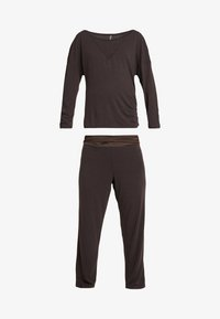 LingaDore - INDY SET - Pyjama - java brown - 5
