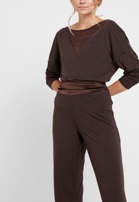 LingaDore - INDY SET - Pyjama - java brown - 4