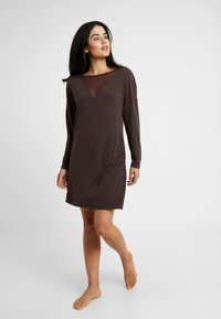 LingaDore - INDY DRESS  - Noční košile - java brown - 1