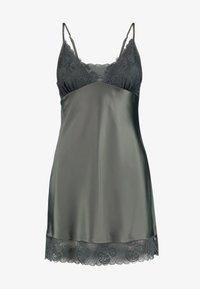 LingaDore - DULL DRESS - Chemise de nuit / Nuisette - dusty olive - 3