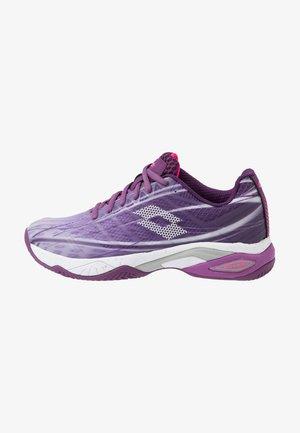 MIRAGE 300 CLY  - da tennis per terra battuta - charisma violet/all white/funky pink