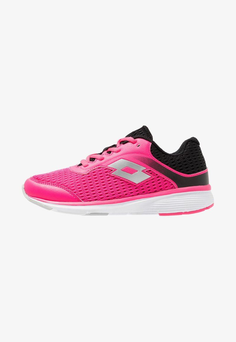 Lotto - SPEEDRIDE 400 II - Neutral running shoes - funky pink/silver metal/black