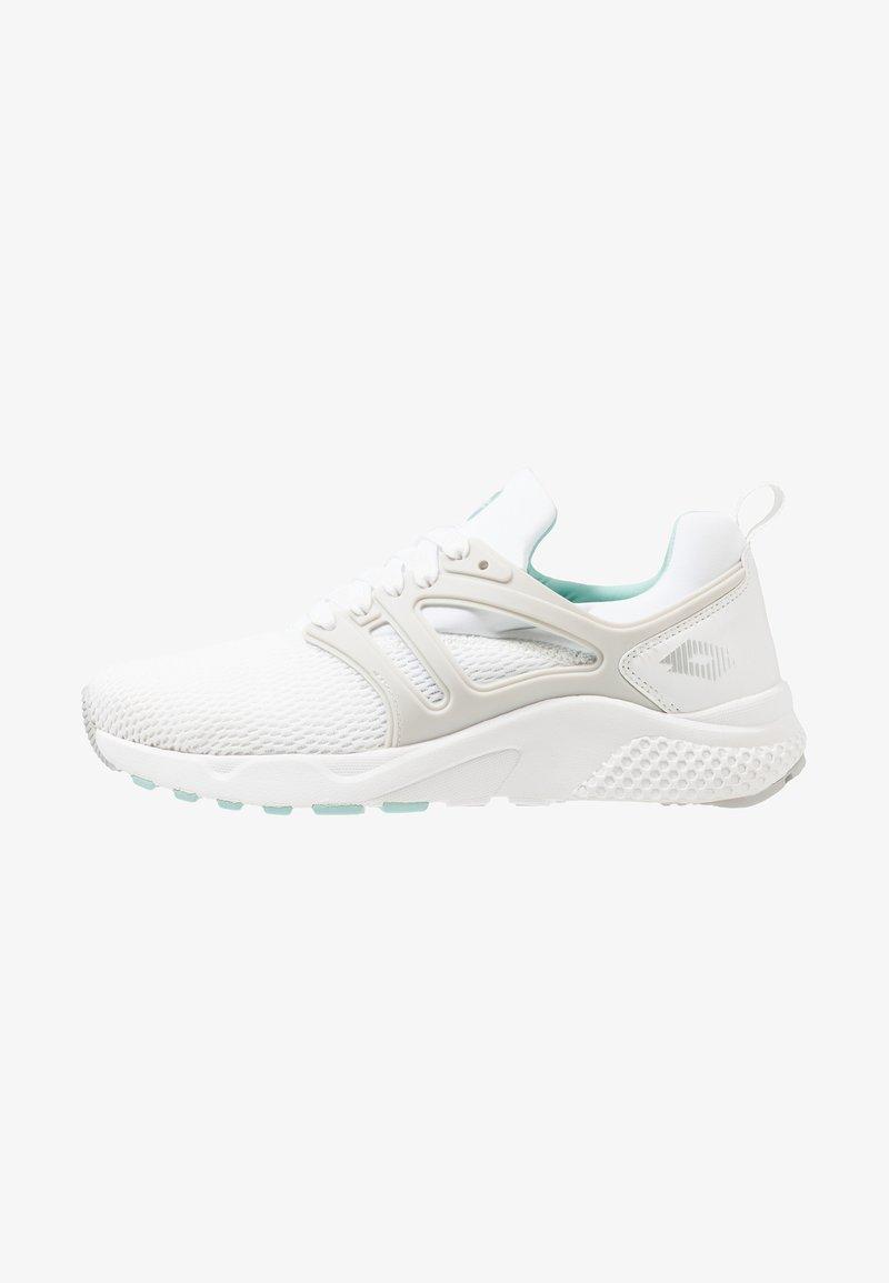 Lotto - BREEZE III - Zapatillas de running neutras - all white/silver metal