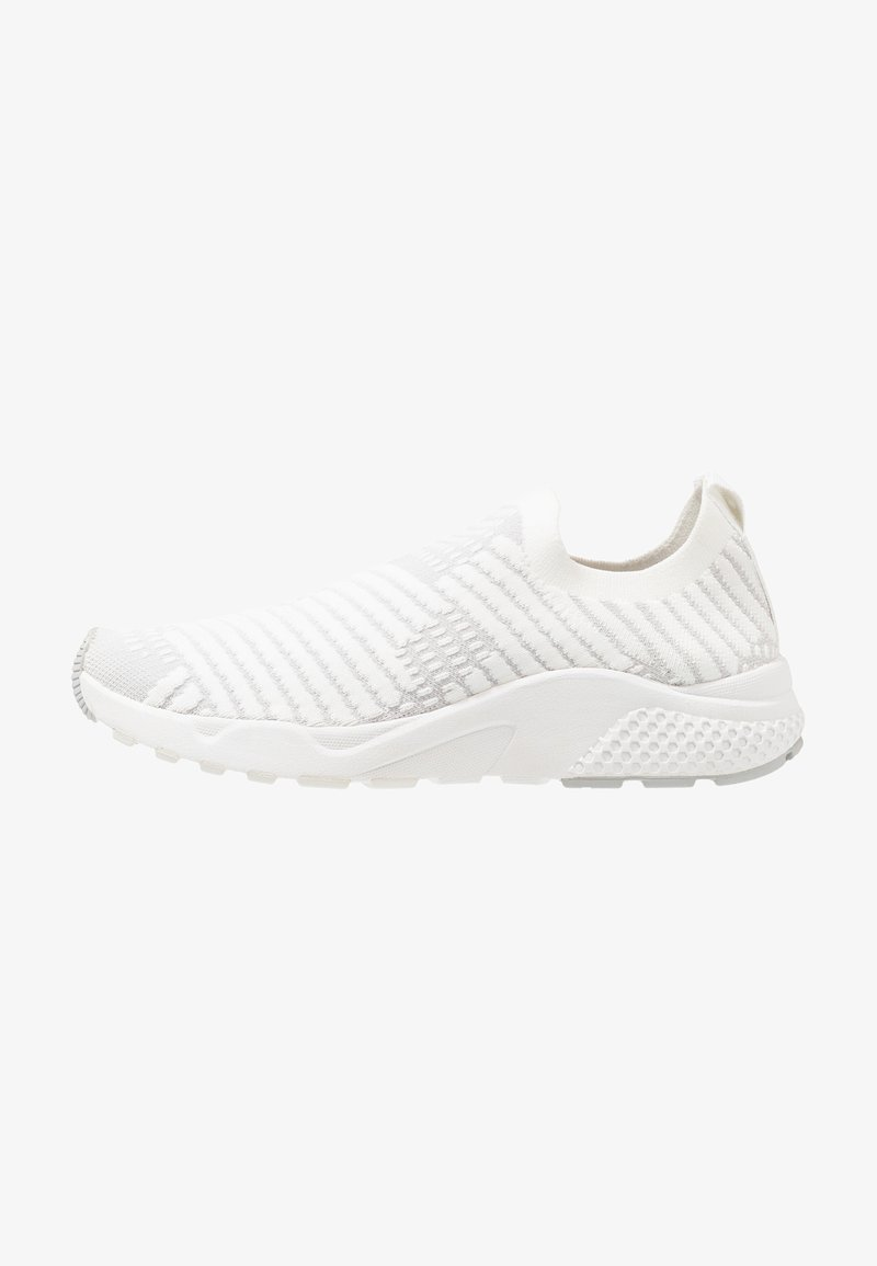 Lotto - BREEZE - Neutral running shoes - white/vapor gray