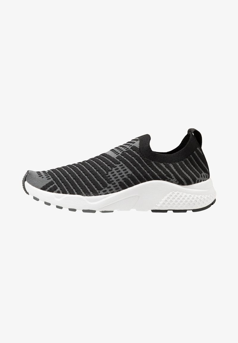 Lotto - BREEZE - Neutral running shoes - all black/light asphalt