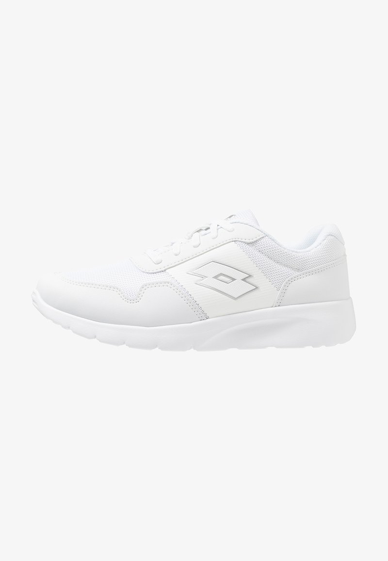 Lotto - MEGALIGHT ULTRA II - Neutral running shoes - white/silver