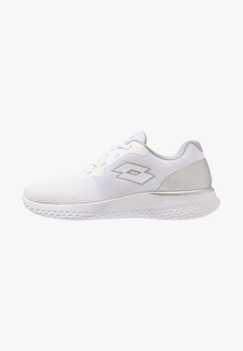 Lotto - EVOLIGHT - Neutral running shoes - white/silver
